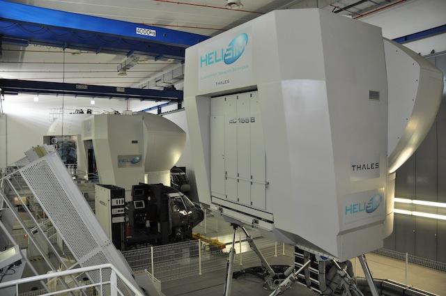 EC155 Pilot Training With HeliSim Simulators Luviair