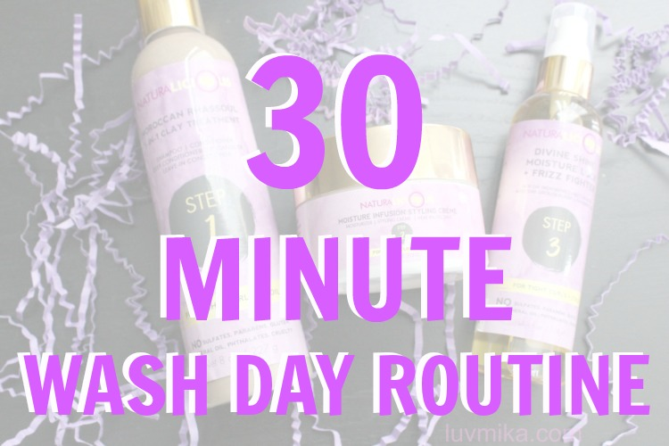 30 Minute Wash Day Routine