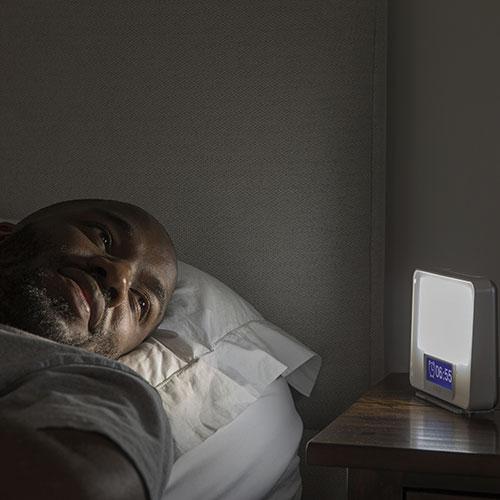 réveil simulateur d'aube Lumie Zest