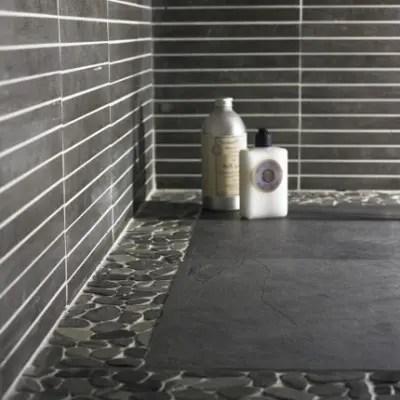 sliced pebble tile producer