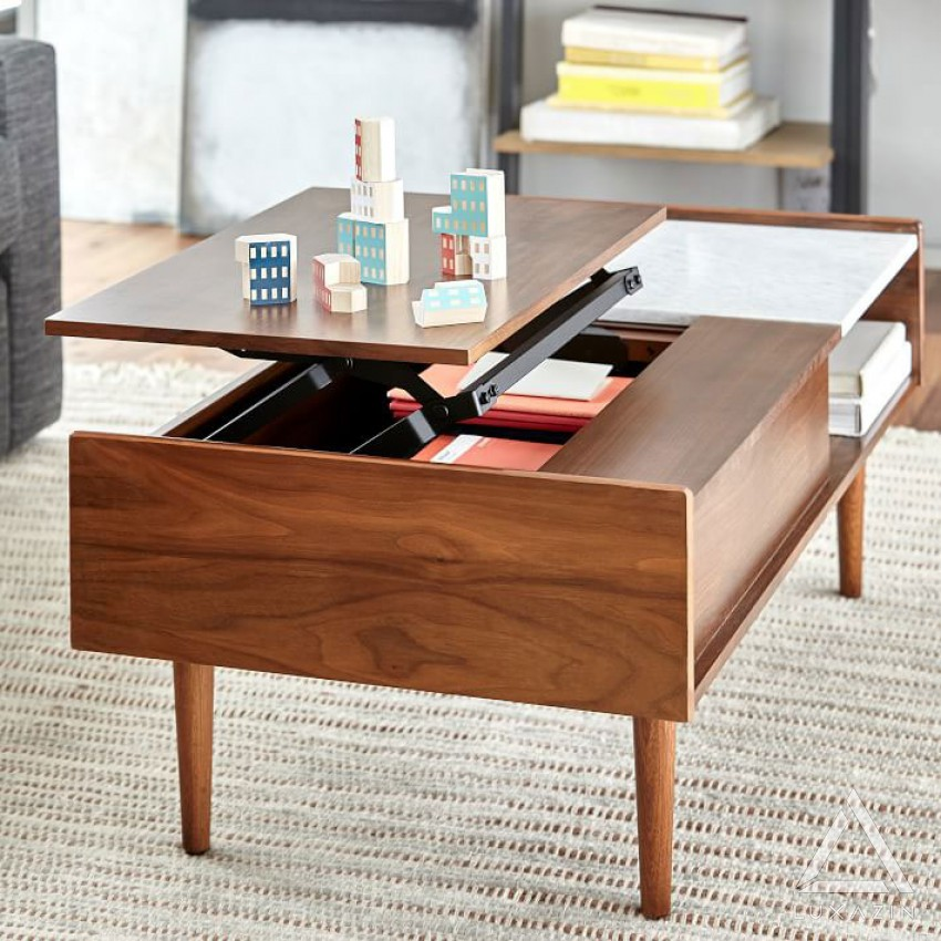 acacia coffee table luxazin