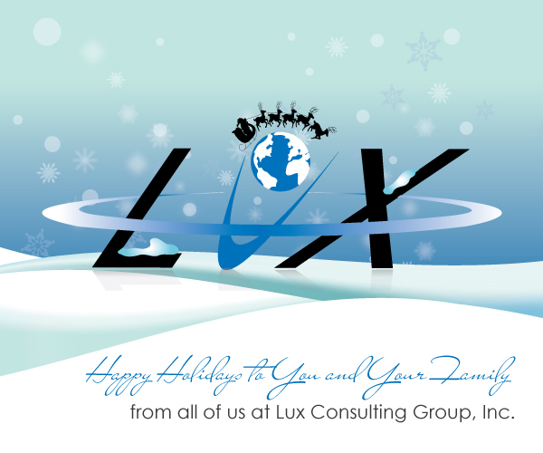 Happy Holidays from Lux