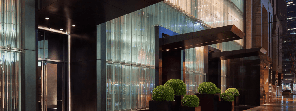 Baccarat Hotel and Residences Three Doors Hotel Residences Restaurant