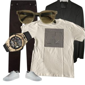 Cool Guy Outfit Valentine's Day luxe-edit.com