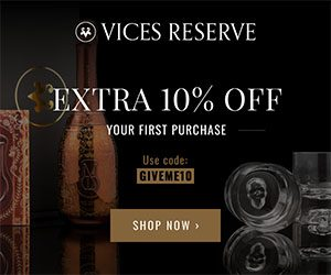 Robb Vices Reserve Extra 10% off First Purchase