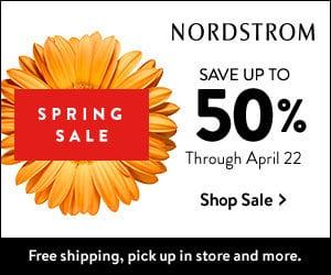 NORDSTROM Spring Sale ad