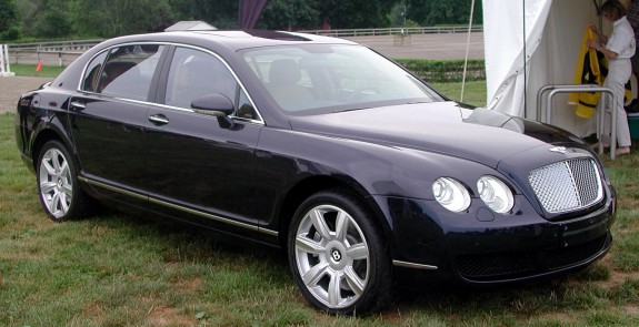 La Bentley Continental Flying Spur de Carlos Slim, d'une valeur de 300 000 dollars