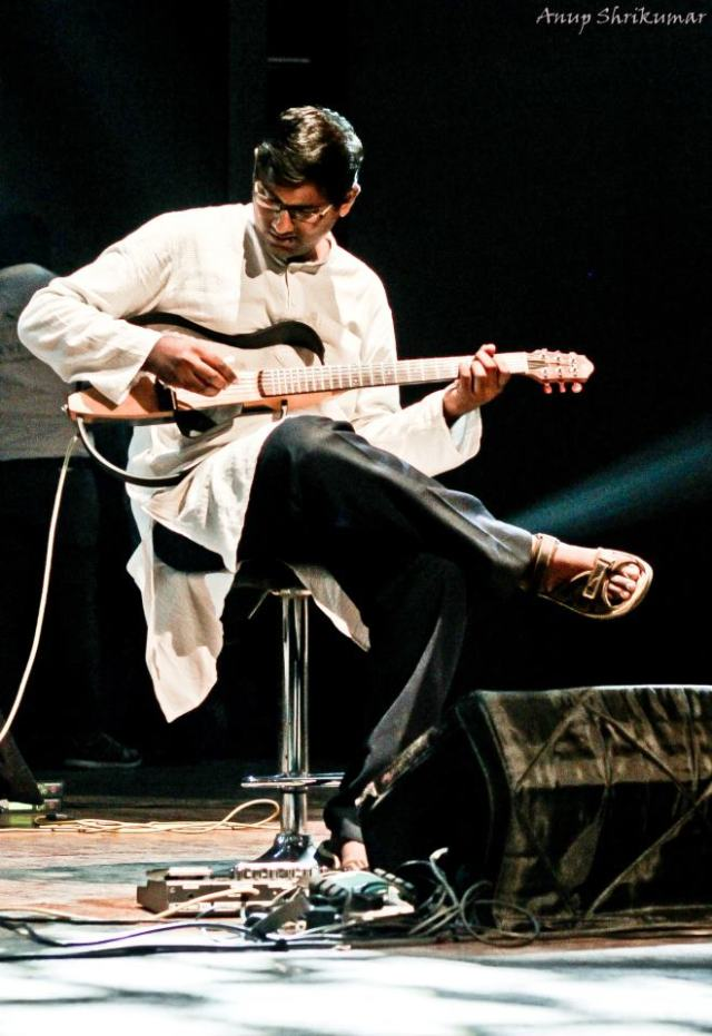 Nikhil Rao- guitarist, The Indian Ocean