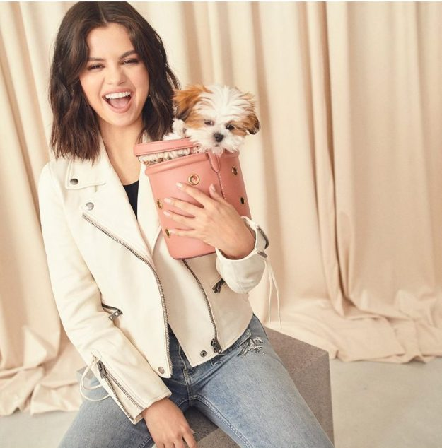 Selena Gomez for COACH