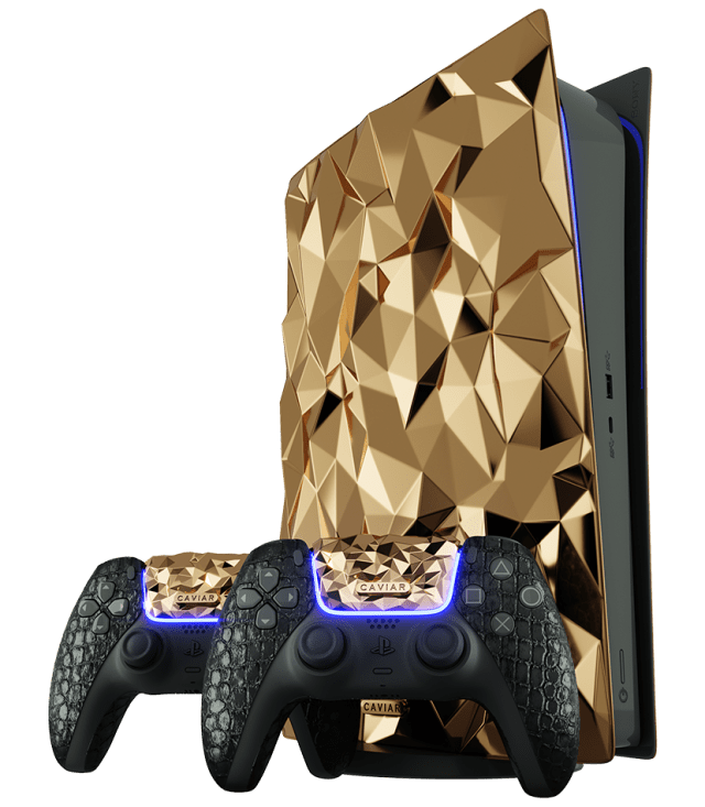 Golden Rock PS5 by Caviar