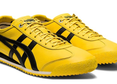 Onitsuka Tiger Tai Chi Yellow and Black Mexico 66 Unisex sneakers