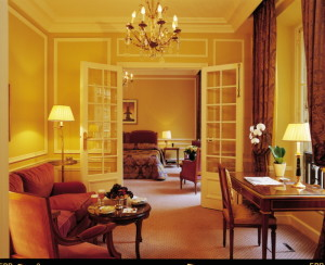 luxury hotels of Paris