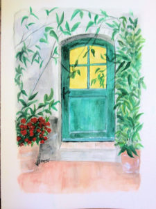 colorful doors in France