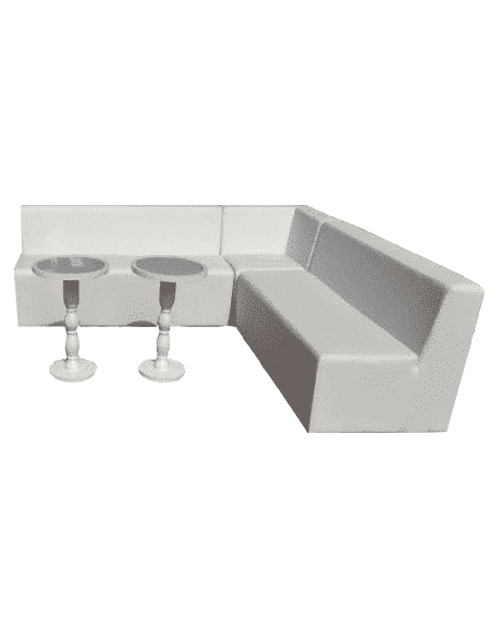 Awe Inspiring White Luxe Lounge Line Sectional Sofa Creativecarmelina Interior Chair Design Creativecarmelinacom