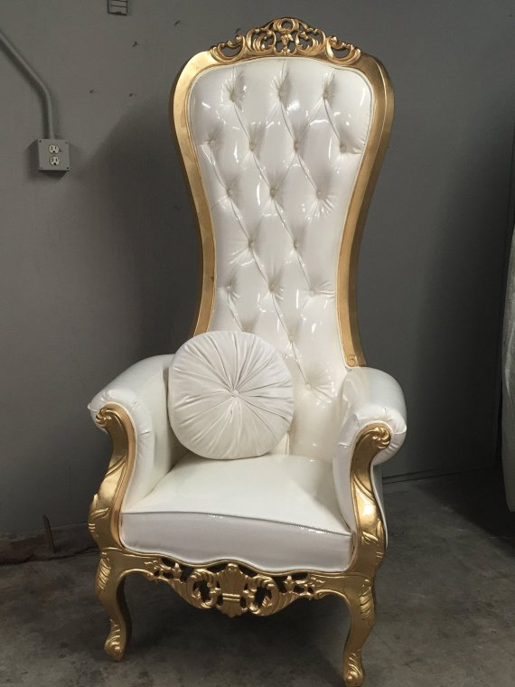 Terrific Luxe Throne Chair Dailytribune Chair Design For Home Dailytribuneorg