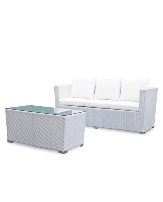Superb Luxe Outdoor Wicker Sofa Pabps2019 Chair Design Images Pabps2019Com