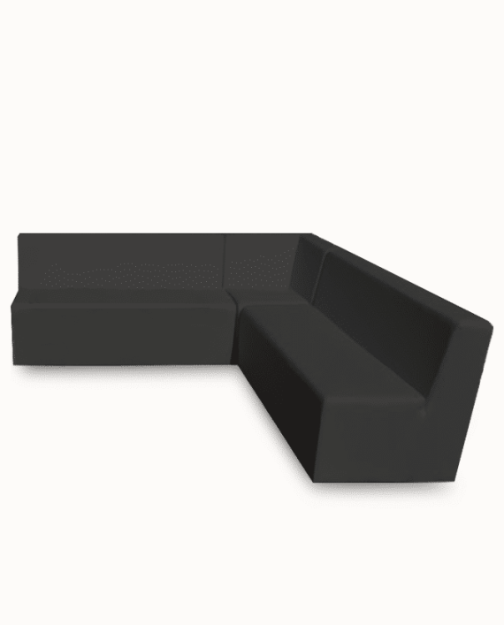 Sensational Onyx Black Luxe Lounge Line Sectional Sofa Andrewgaddart Wooden Chair Designs For Living Room Andrewgaddartcom