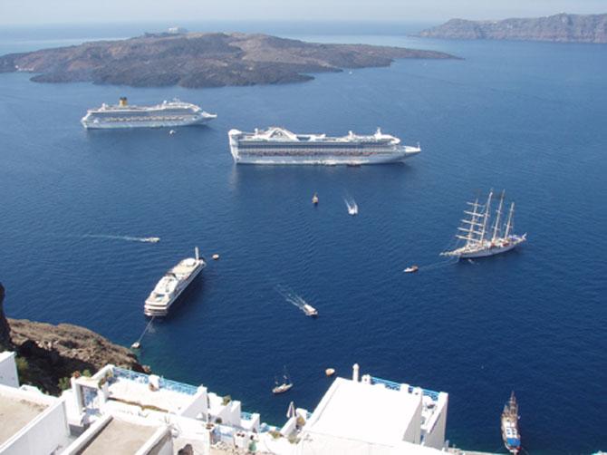 10 Picture Perfect Islands Across the Globe Santorini