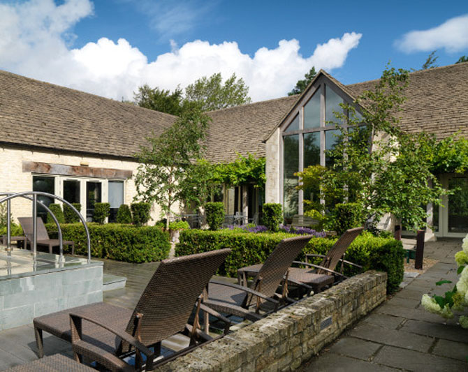The Best English Country Spas Calcot Manor Gloucestershire 1