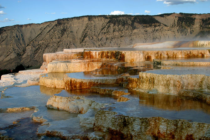 Top 10 Most Impressive Travertines Mammoth Hot Springs