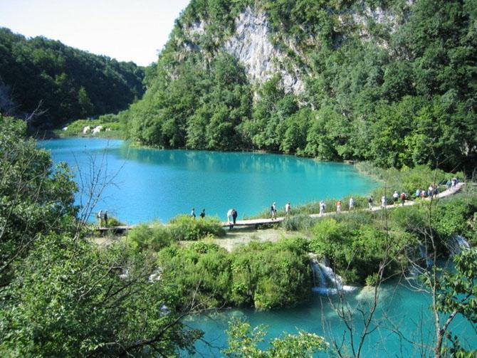 Top 10 Most Impressive Travertines Plitvice Lakes