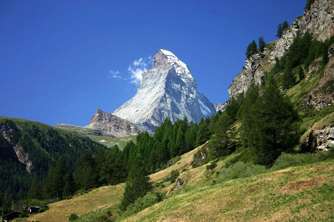 Top 10 Mountains to Hike in the World The Matterhorn Switzerland