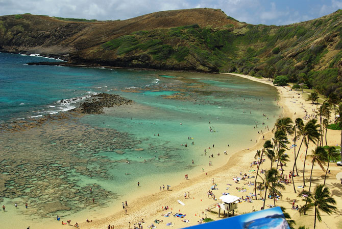 Top 10 Sightseeing Attractions in Honolulu Hanauma Bay Nature Reserve