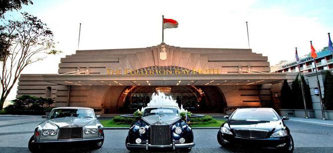 Top 5 Luxury Hotels in Singapore Fullerton Bay Hotel 1