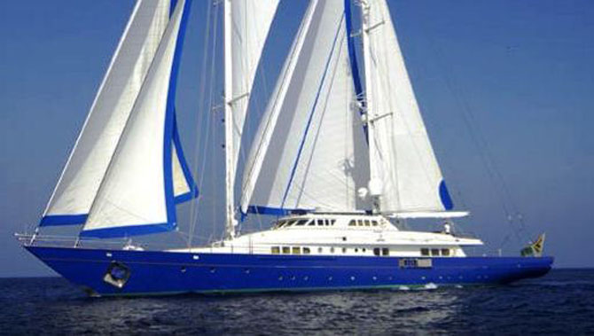 Top 7 Sailing Superyachts to Charter This Winter Blue Gold 1