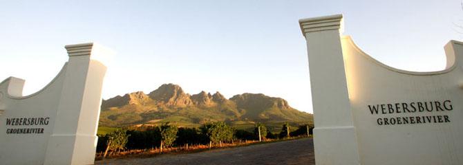 Webersburg Wine Estate Stellenbosch 3