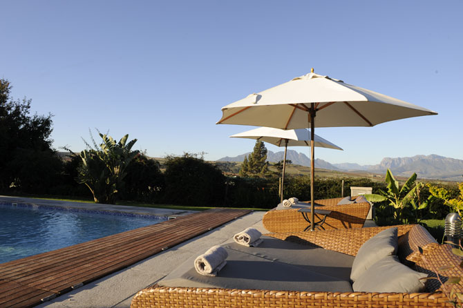 WedgeView Country House & Spa Stellenbosch 8