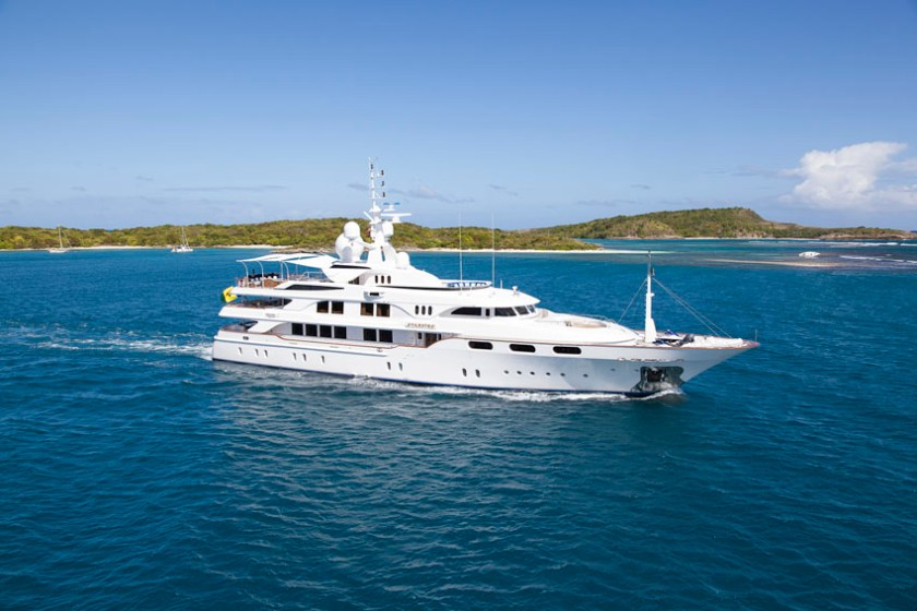 A Day on a Superyacht 1