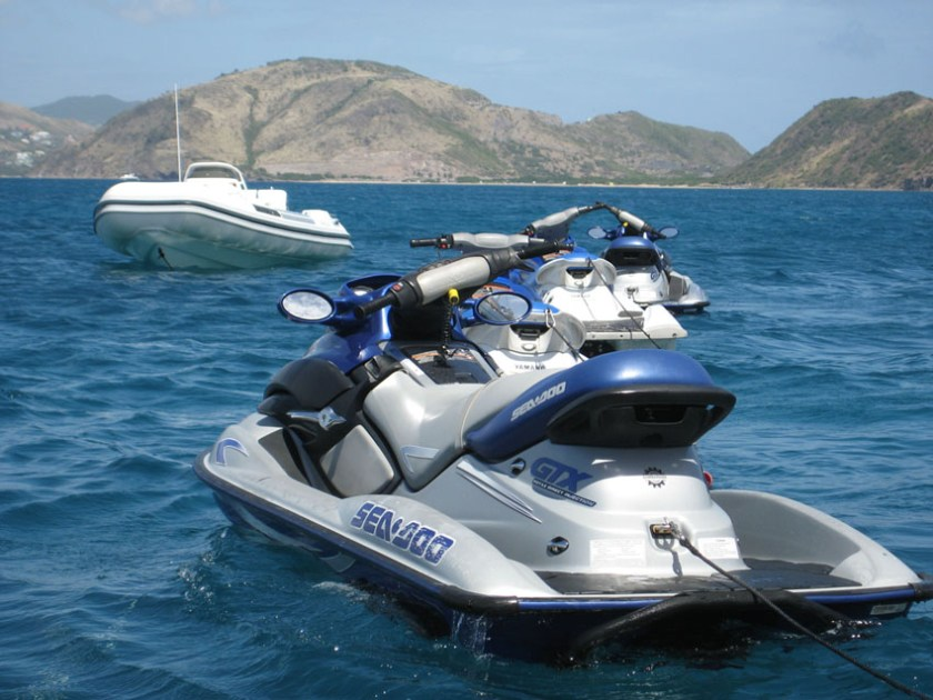 Mauritius watersports opportunities jet skiing
