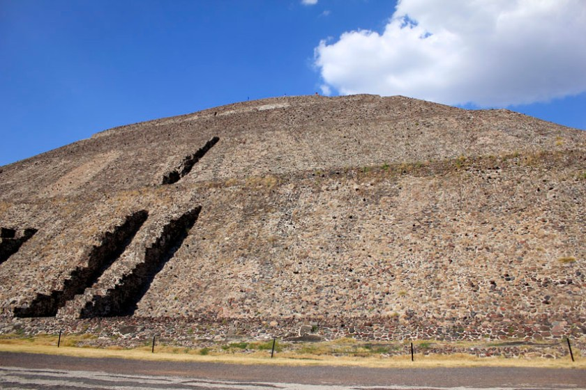 Pyramid of the Moon in Teotihuacan 1