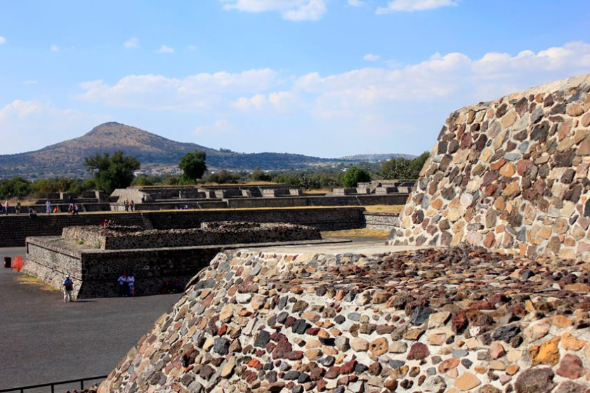 Pyramid of the Moon in Teotihuacan 2