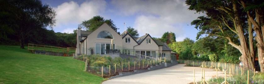 Remote luxury hideaways in wales Snowdonia Borth Cottage Abersoch