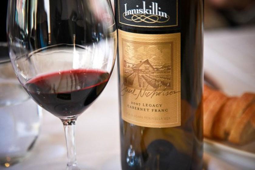 Inniskillin Ice wine Canada 5