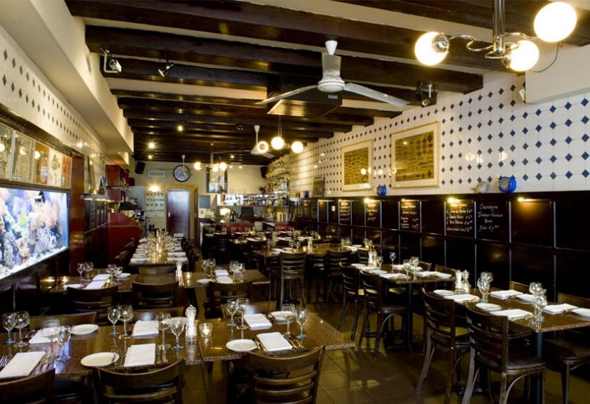 Luxury in Amsterdam Lucius Seafood Restaurant