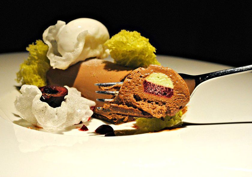 Desserts at Hakkasan New York5