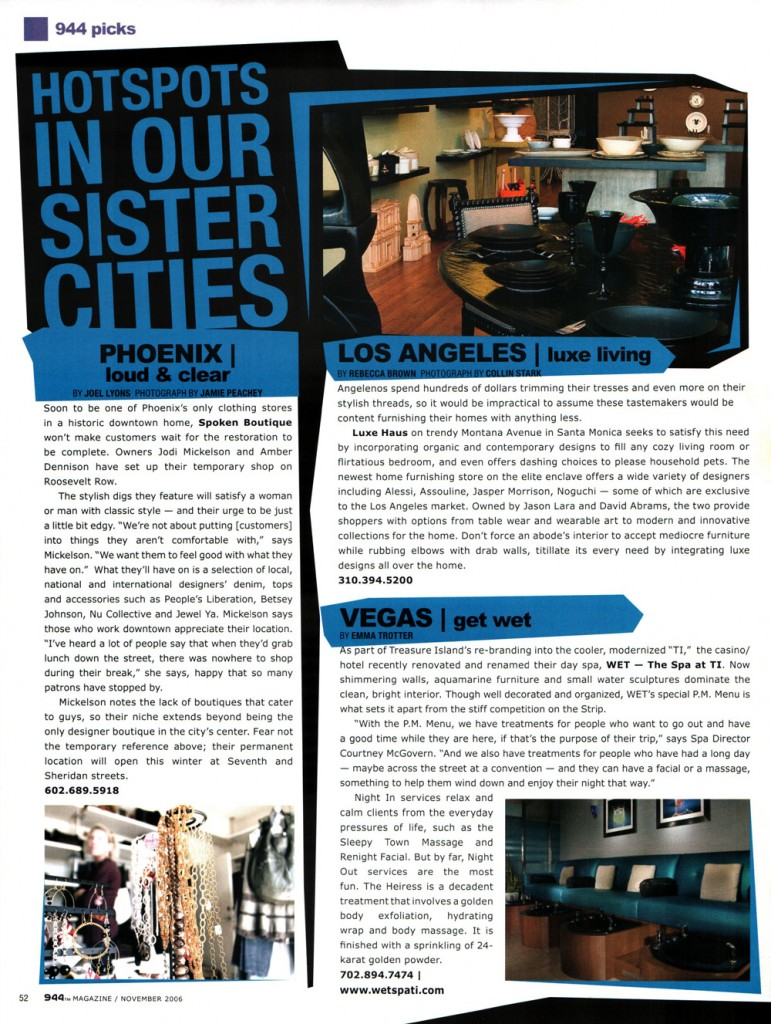 944 Luxehaus Article