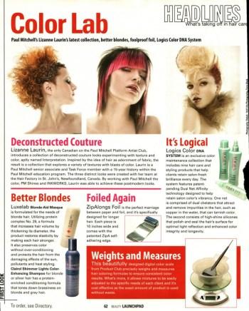 Launchpad Magazine Blonde-Aid Masque