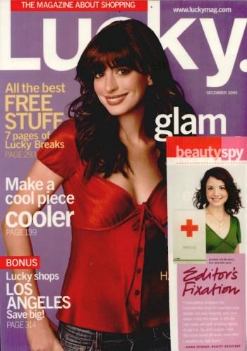 Lucky Magazine Blonde-Aid