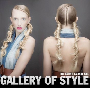 Luxelab Creative Director @alittlesnippy has been chosen as an international finalist in the @shuartofhair Gallery Of Style competition.