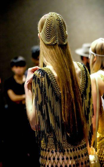 LAFW FW '17 Designer: Laurel Dewitt Lead Hair: Eric Garza Photo: Liz Abrams