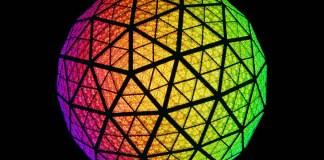 LED NY Eve Ball