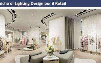 illuminazione degli spazi di vendita