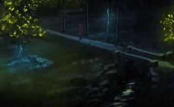 alberi bioluminescenti