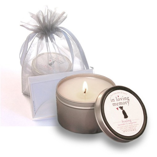 In Loving Memory Pet lovers Memorial Candle