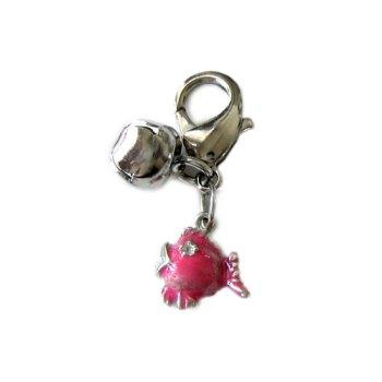 lulu cat charm pink