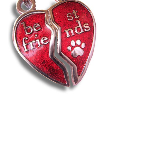 "Best Friends Charm, Pet ""Mizpah"""